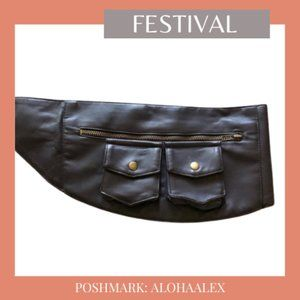 Handbags - BROWN FESTIVAL HIP BAG - CLASP BROKEN